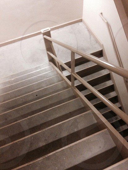 Upstairs and downstairs. photo