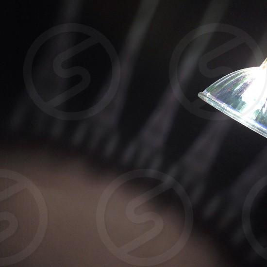 Halogen light pattern.  photo