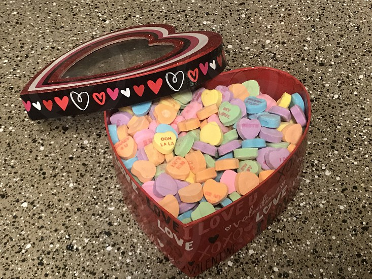 Valentines candy hearts candy hearts love photo