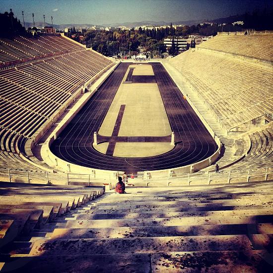 Olympic stadium in Athena greece photo