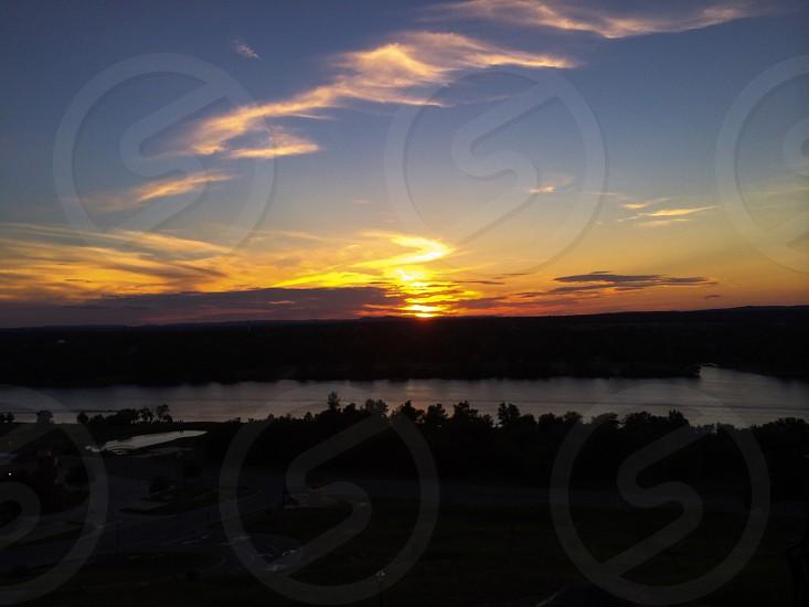Sky sunset photo