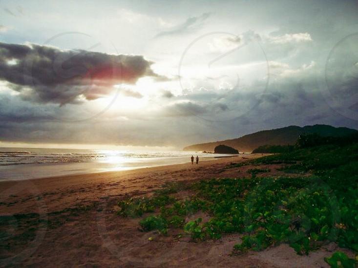 Sunset at Playa Grande Guanacaste Costa Rica photo
