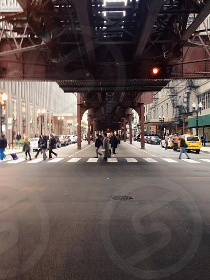 under bridge view  photo