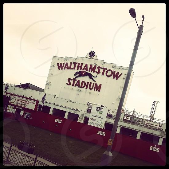 Walthamstow Stadium during demolition. photo