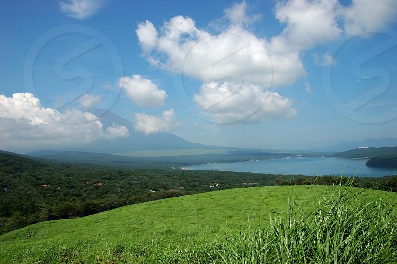 夏の富士山 photo