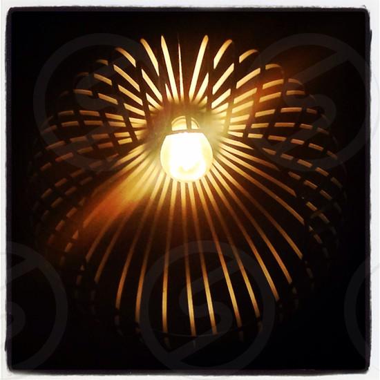 Lamp (Detail). photo