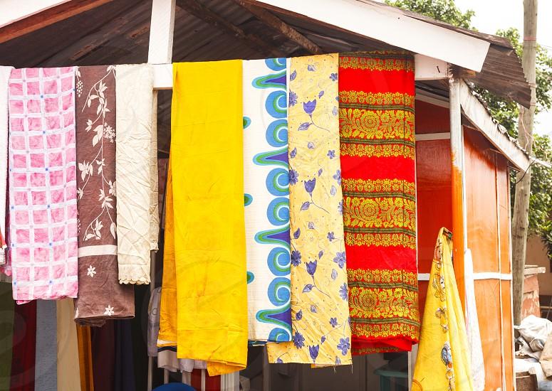 Fabric in Ghana photo
