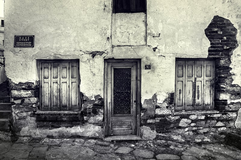 An Old House in Skiathos. photo
