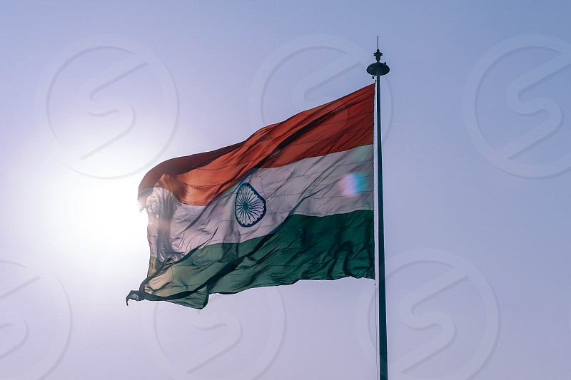 The largest national flag in the country photo