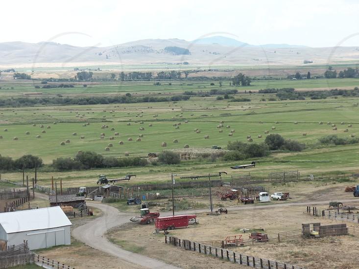 Ranch fields photo