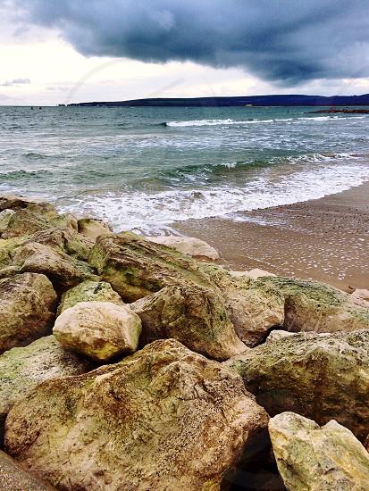 Poole Beach • England  photo