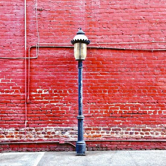 Vintage lamppost   photo