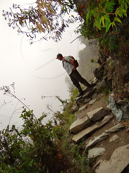 Hiking in Peru photo