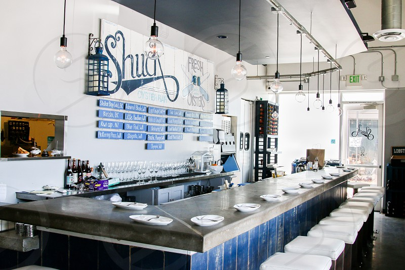 Shuck Oyster Bar interior  photo