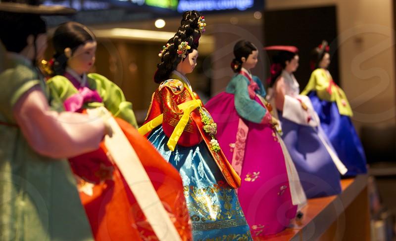 asian woman figurine photo