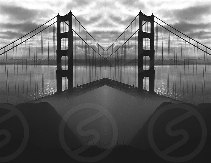 A new take on the Golden Gate Bridge. photo