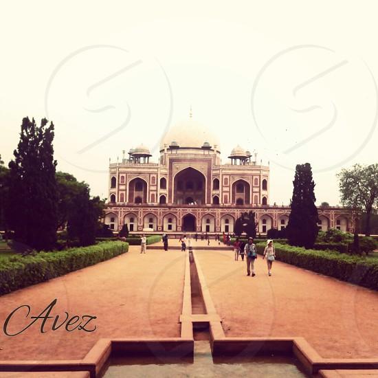 Humayun's Tomb; India. photo