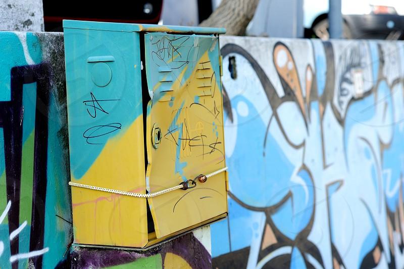 graffiti wall paint photo