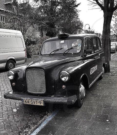 Car Antique Car Bkack photo