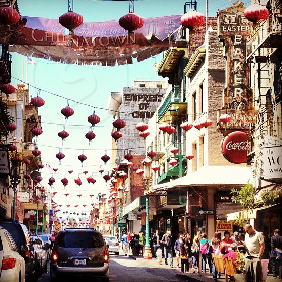 Chinatown...San Francisco California photo