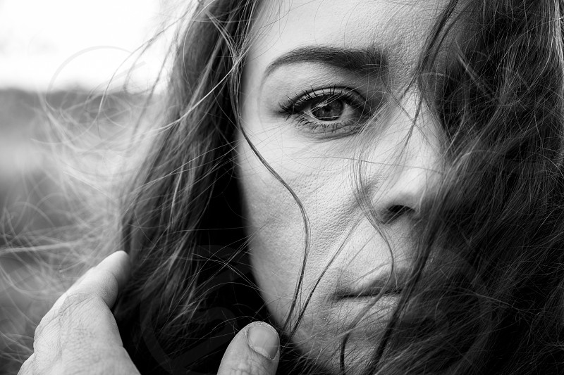 Portrait of woman photo