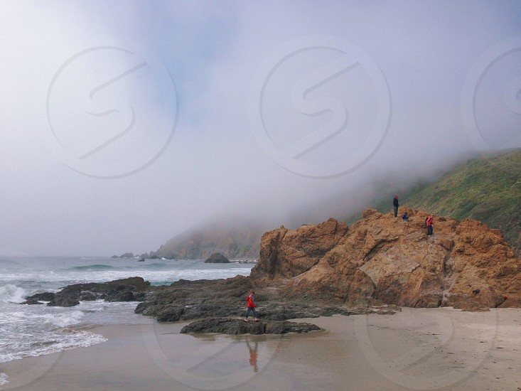 Exploring the coast.  photo