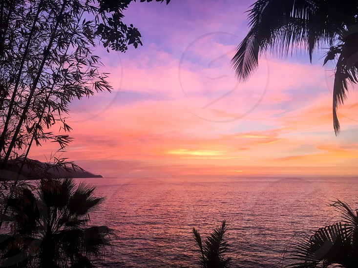 Landscape sunset - Mexico  photo