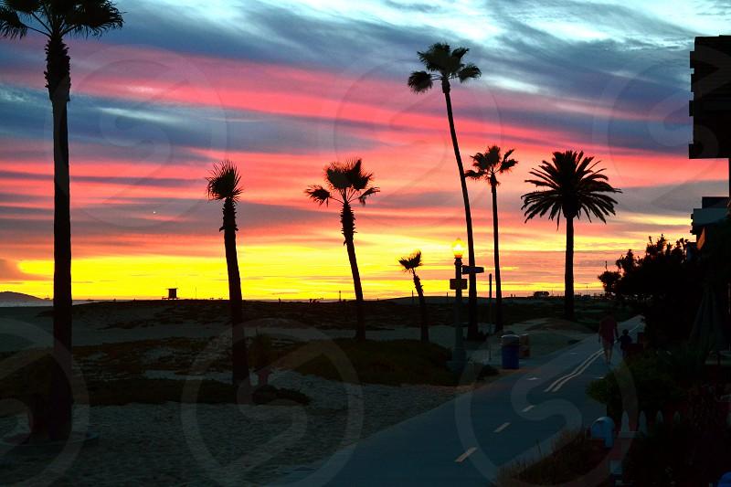 Sunset. Used filter G3 photo