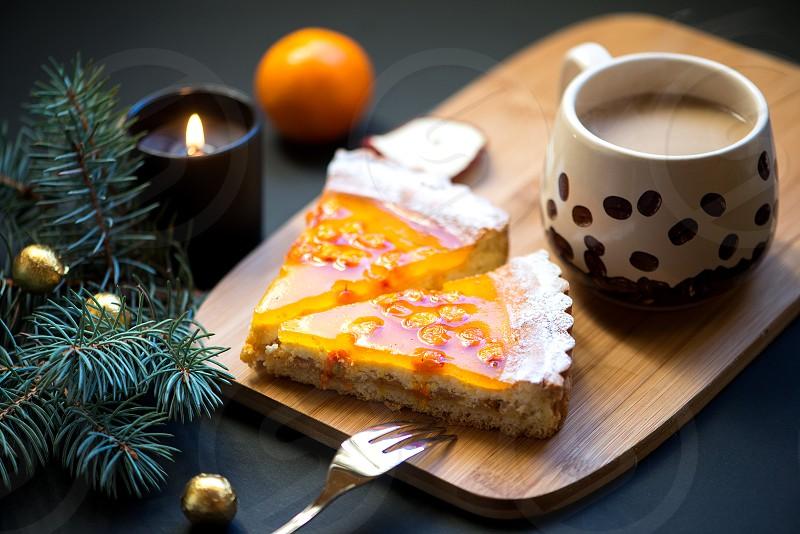 Winter Holidays sweet food photo
