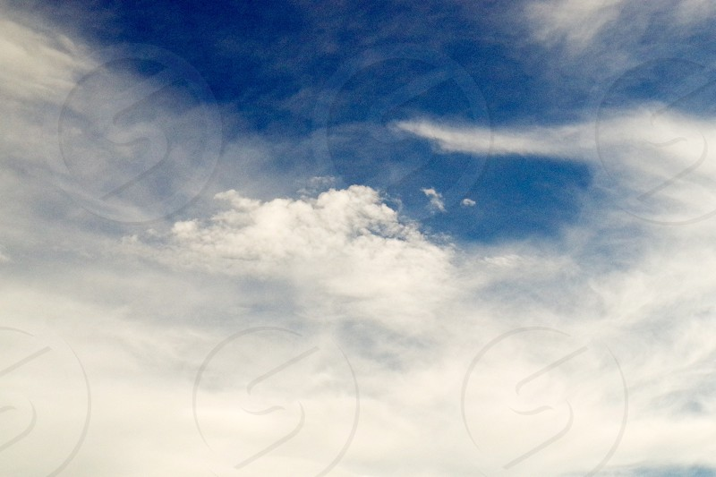 Cloudy sky with a chance of love photo