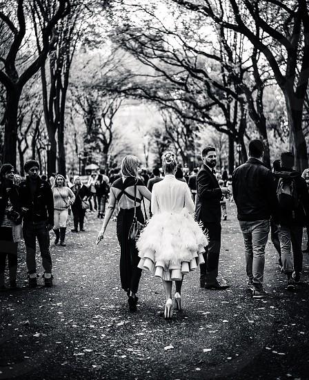 Central Park bride photo