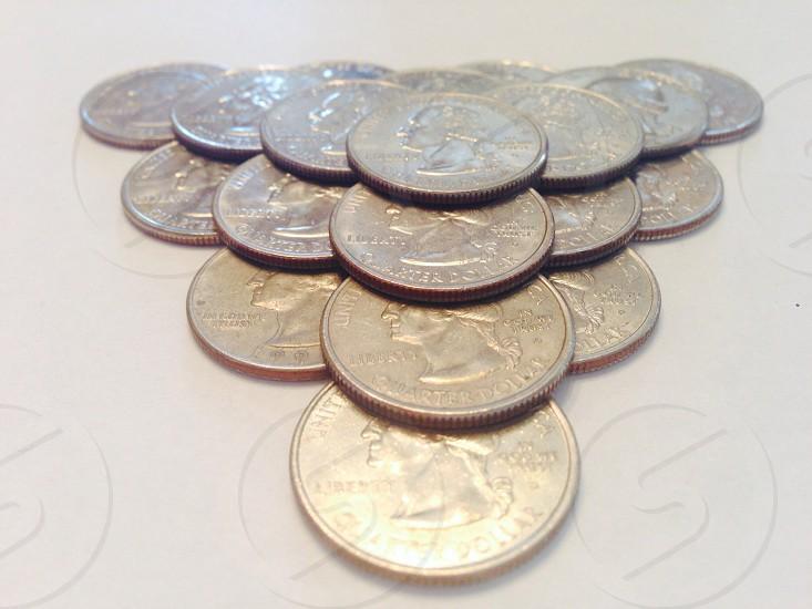 brass coin photo