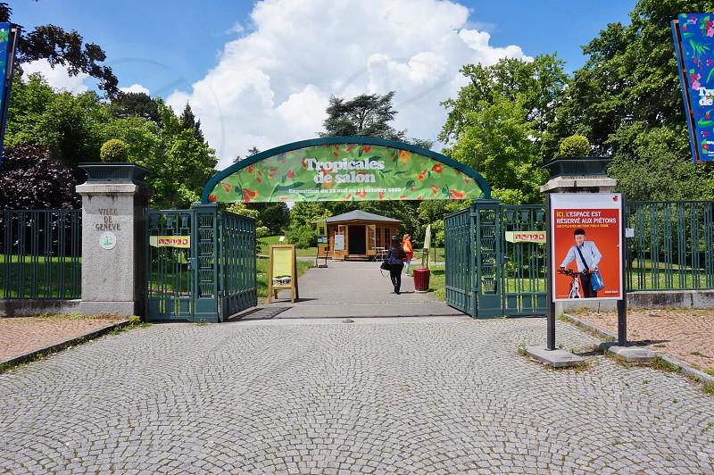 Conservatory and Botanical Garden of the City of Geneva Switzerland photo