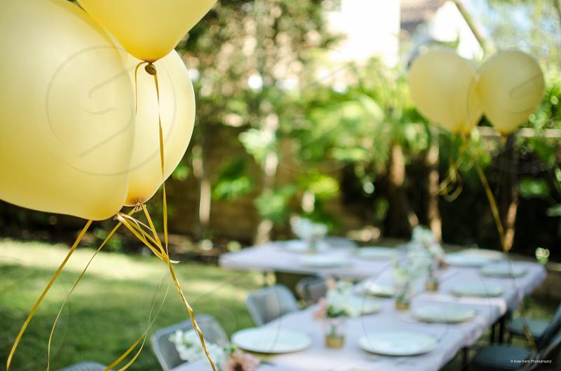 Balloons wedding essential photo