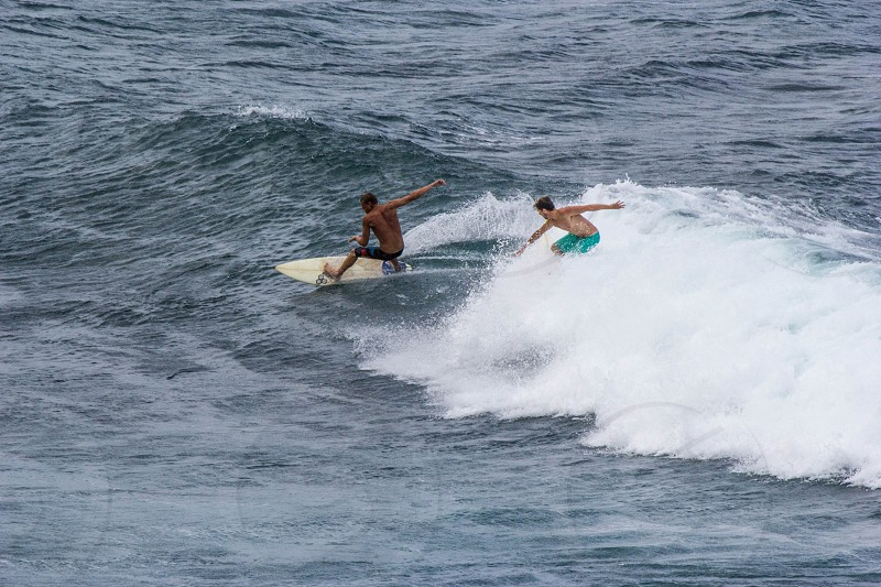 Surfing hobby people photo