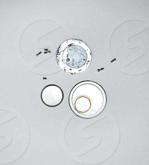 clock timer screws parts spareparts battery photo