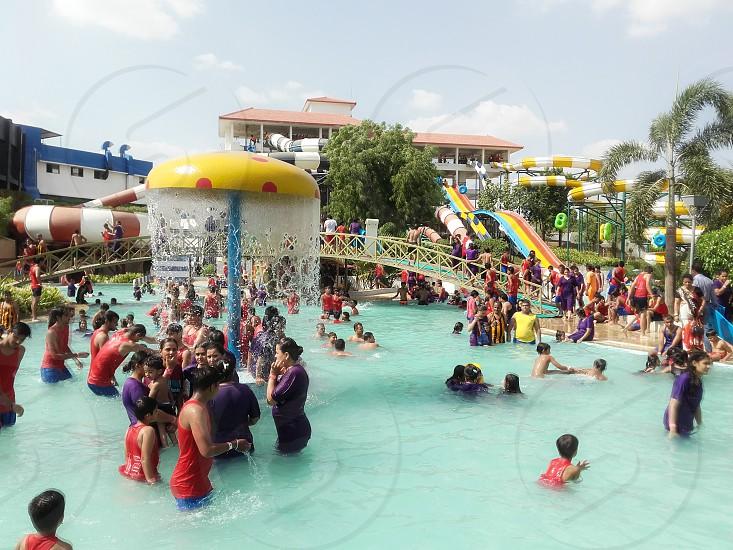 crescent water park indore photo