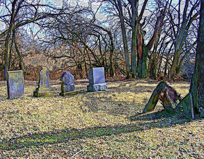 Cemetery in Leavenworth KS photo