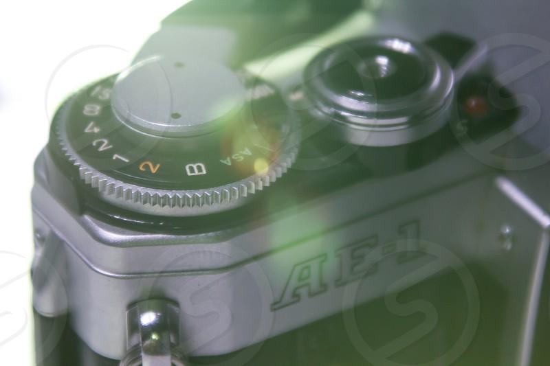 1976 Canon AE-1 35mm fim camera photo