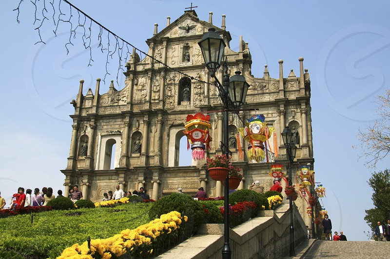 Ruins of St Pauls' Macau photo