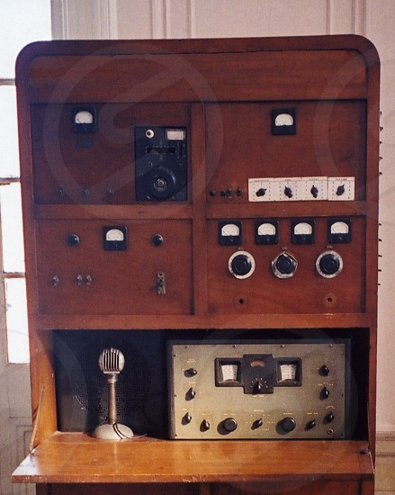 Antique Two Way Radio Military Grade Antique 2-way radio Cold war two way radio. photo