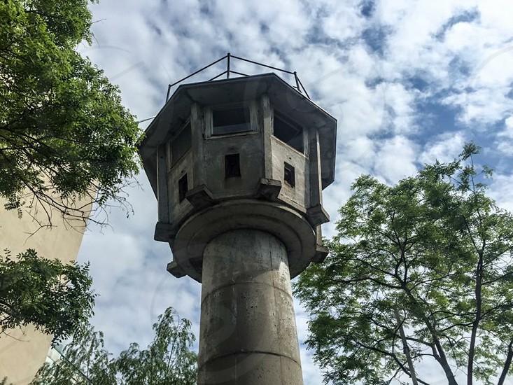 GDR Watchtower Berlin. photo