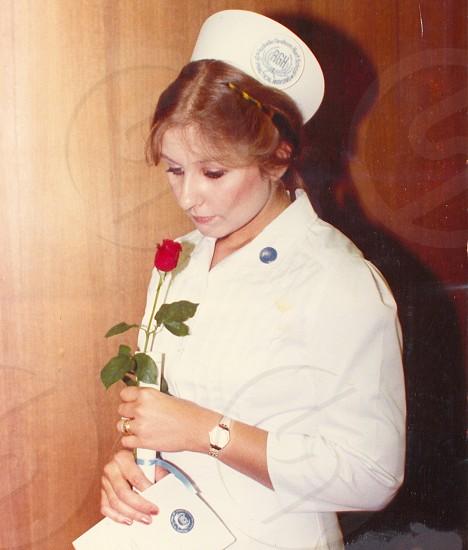 nurse graduation photo