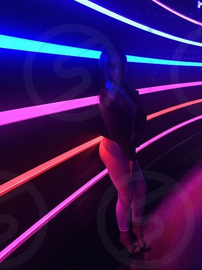 ultraviolet club purple neon photo