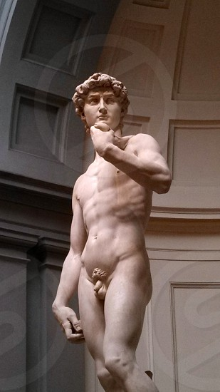 Statue of David Florence Italy photo