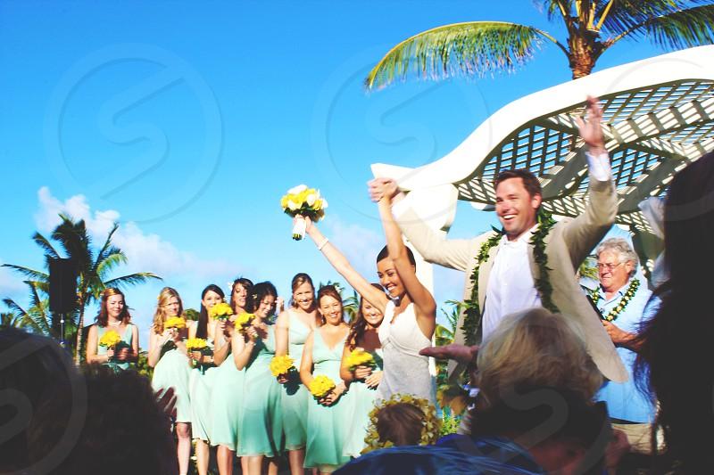 bride and groom wedding photography photo