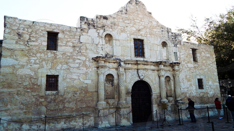The Alamo in San Antonio TX photo