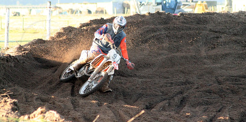 Practice session at Tain for the Enduropale du Touquet. photo