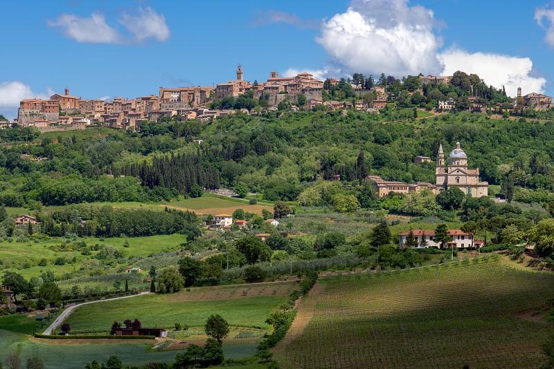 San Biagio Church Tuscany photo