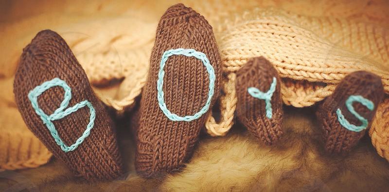 Socks for little cute boys brothers boys guys home warm winter sweet photo
